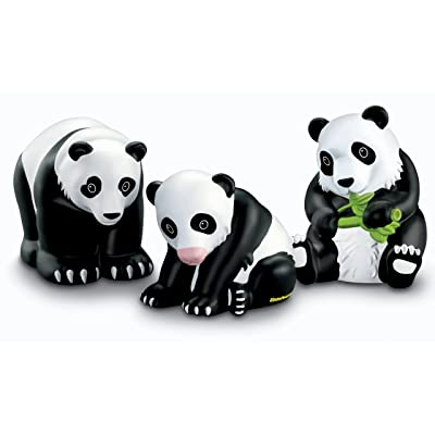 Fisher-Price Little People Zoo Talkers Panda Bears Family Pack: Toys & Games