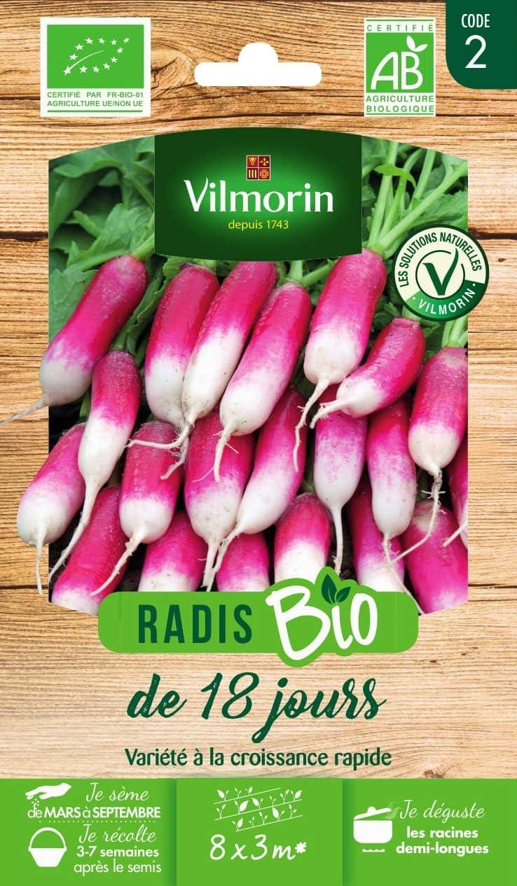 Germisem 18 Days Graines de Radis 10 g