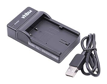 vhbw Micro USB Cargador, Cable de Carga para cámara Canon ...