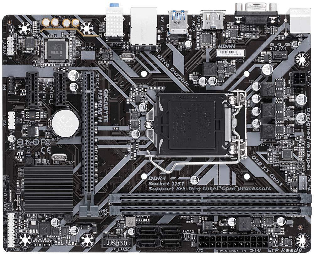 Gigabyte H310M-H HDMI top image
