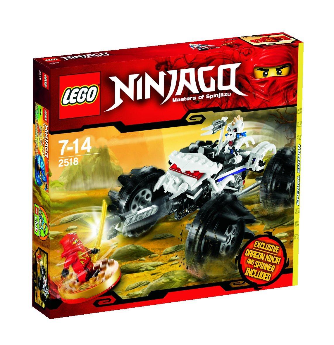 LEGO Ninjago – Meister des Spinjitzu 2518 mit Dragon Ninja und Spinner