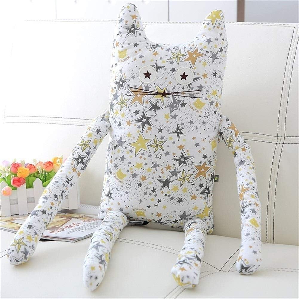 Las almohadas de dibujos animados lindo gato de juguete de felpa almohada for dormir largo de la manera creativa de la personalidad del amortiguador niñas regalos blandos Juguetes para niños / familia