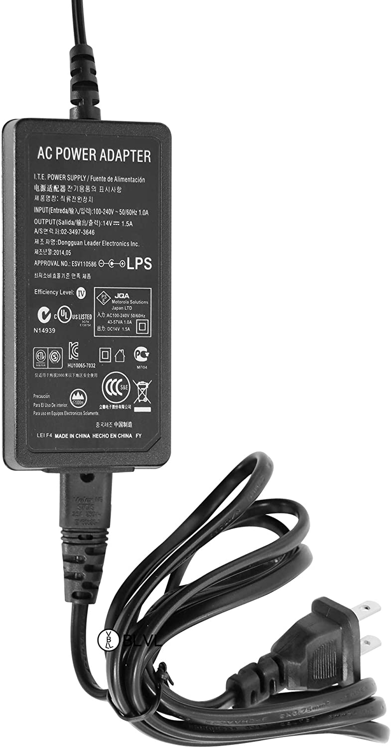 Rapid-Rate Transformer Power Supply adaptor for Kenwood KSC-43 Charger