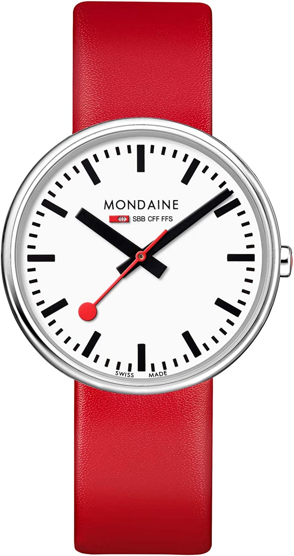 Mondaine Reloj Análogo clásico para Mujer de Cuarzo con Correa en Cuero MSX.3511B.LC