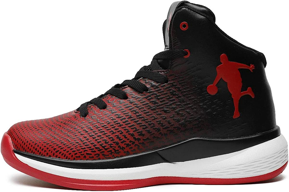 Mens Personal Basketball Shoes Trainers High Elastic Shock Technology New KPU+Fabric Lightweight Air Precision Basketball Shoes/…