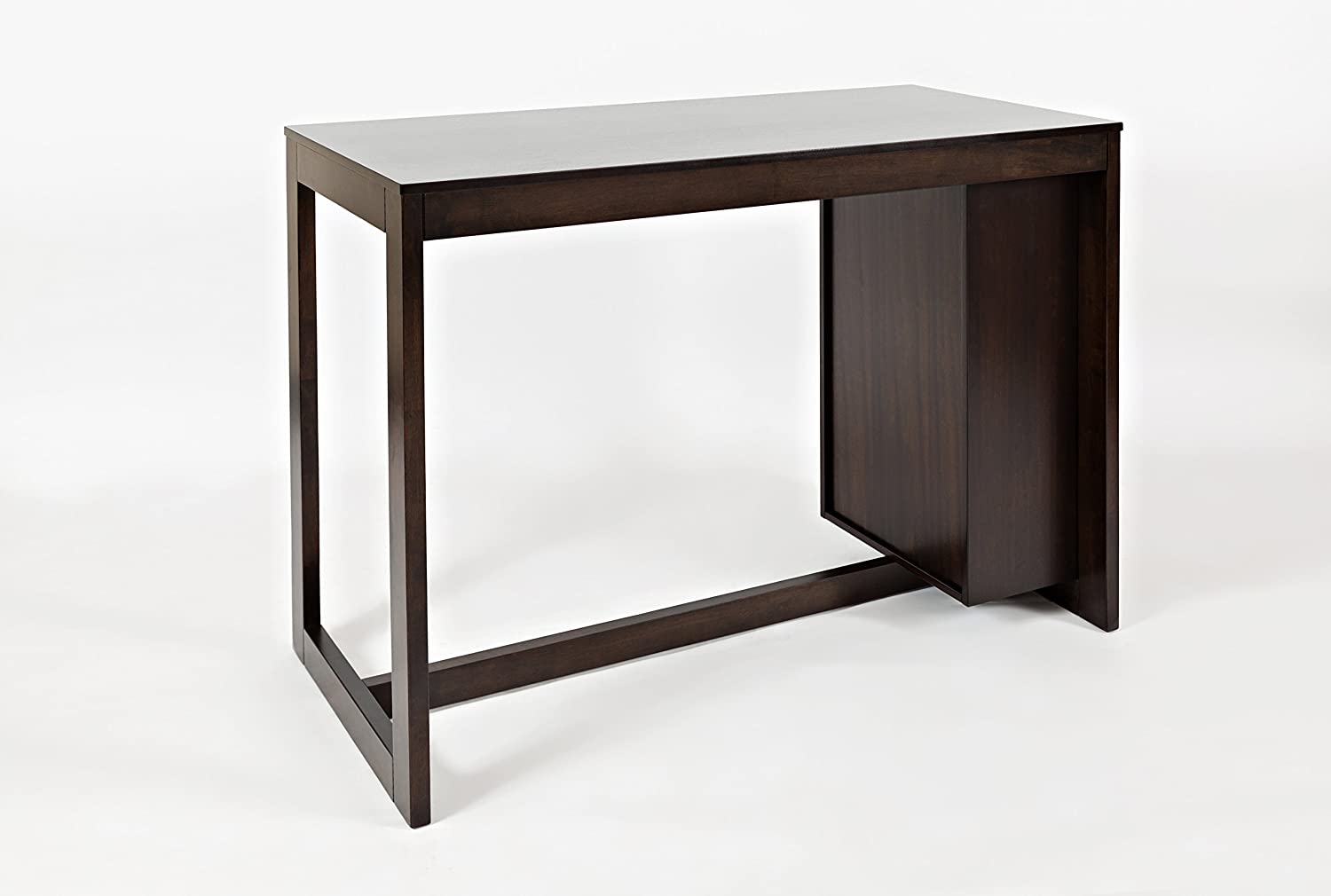 Jofran Tribeca Counter Height Dining Table 22 W X 48 D X 36 H Merlot Finish Set Of 1 Table Chair Se