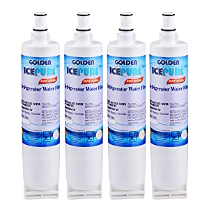 Golden Icepure 4396508 refrigerator water filter replacement for Whirlpool 4396508, 4396510,Filter 5,EDR5RXD1,NL240V,WFL400