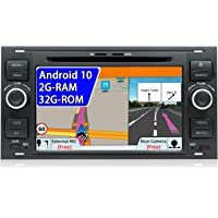 JOYX Android 10 Auto Stereo Hoofd unit Voor Ford C-Max/Connect/Fiesta/Focus/Fusion/Galaxy/Kuga S-Max/Transit/Mondeo…