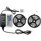 Amazon Price History for:WenTop 10-5050-150-RGB-IP44 Led Strip Lights Kit