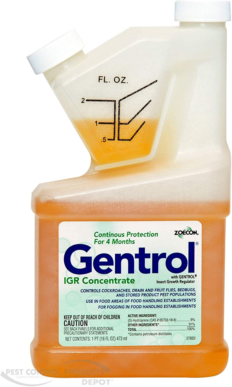 ZOECON 619907 Gentrol IGR Concentrate Insect Growth Regulator, 16 oz