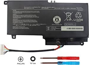Domallk PA5107U-1BRS Laptop Battery for Toshiba Satellite L50 L50-A L55 L55t P50 P50-A P50-b P55t-a P55t-A5116 S55-A5295 S55t-A5202 S55t-A5337 S55t-A5389 P55-A5200 L55-A5284-12 Month Warranty