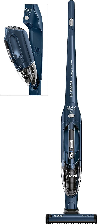 Bosch BBHL22140 Sin bolsa Azul aspiradora de pie y escoba eléctrica - Aspiradora escoba (Sin bolsa, Azul, Secar, Carga, Batería, Ión de litio): Amazon.es: Hogar