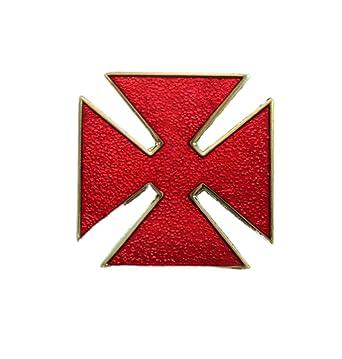 Amazon Knights Templar Grand Officer Gold Metal Maltese Malta