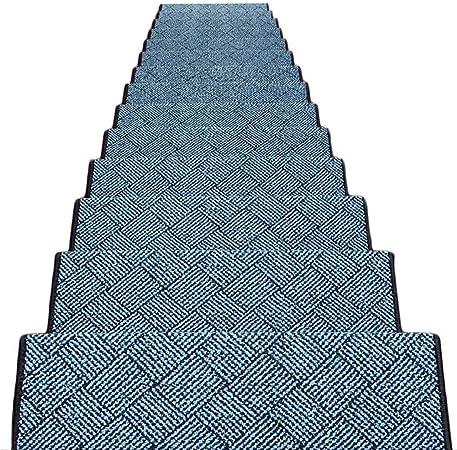 JIAJUAN Alfombra De Escalera Rectángulo Alfombras Peldaños Durable Suelo Duro Escaleras Paso Esteras Moderno, 5 Colores, 4 Tallas (Color : A-5 pcs, Tamaño : 65x24x3cm): Amazon.es: Hogar