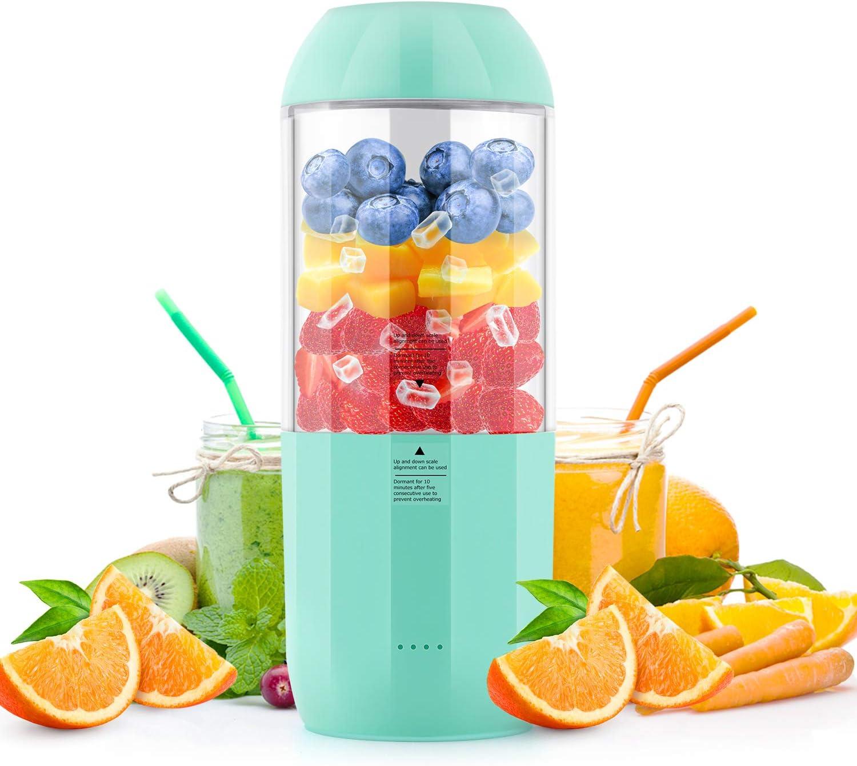 PREUP Licuadoras para Verduras & Frutas Licuadoras para Zumos Centrífugo Boca Ancha & Multi-Velocidades, Base Antideslizante, Extractor de Jugos Libre de BPA, Diseño Antigoteo(Pequeño)
