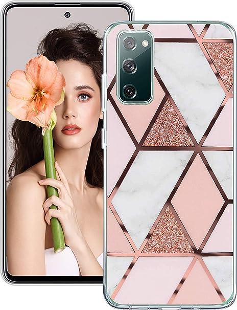 Für Samsung S20 Fe Hülle Silikon Transparent Muster Elektronik