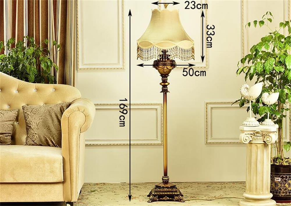 Fußboden Schlafzimmer Lampen ~ Mmm hc european style fußboden lampe retro kreative beleuchtung