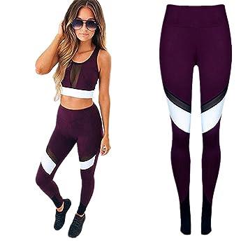hermosa en color en venta disfruta del envío gratis Longra Pantalones Deportivos Mujer - Leggins Desportivos - Pantalones de  Deporte para Correr/Gimnasio/Entrenamiento/Yoga - Patrones de Ambas Partes