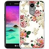 LG V5 Case, LG K20 Plus Case, LG K10 2017 Case, Harryshell Lightweight Slim Thin Tpu Gel Skin Flexible Soft Rubber Bumper Protective Case Cover for LG LV5 / K20 Plus / K10 2017 (B-5)