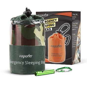 Amazon.com: ROPODA - Saco de dormir de emergencia, ligero ...