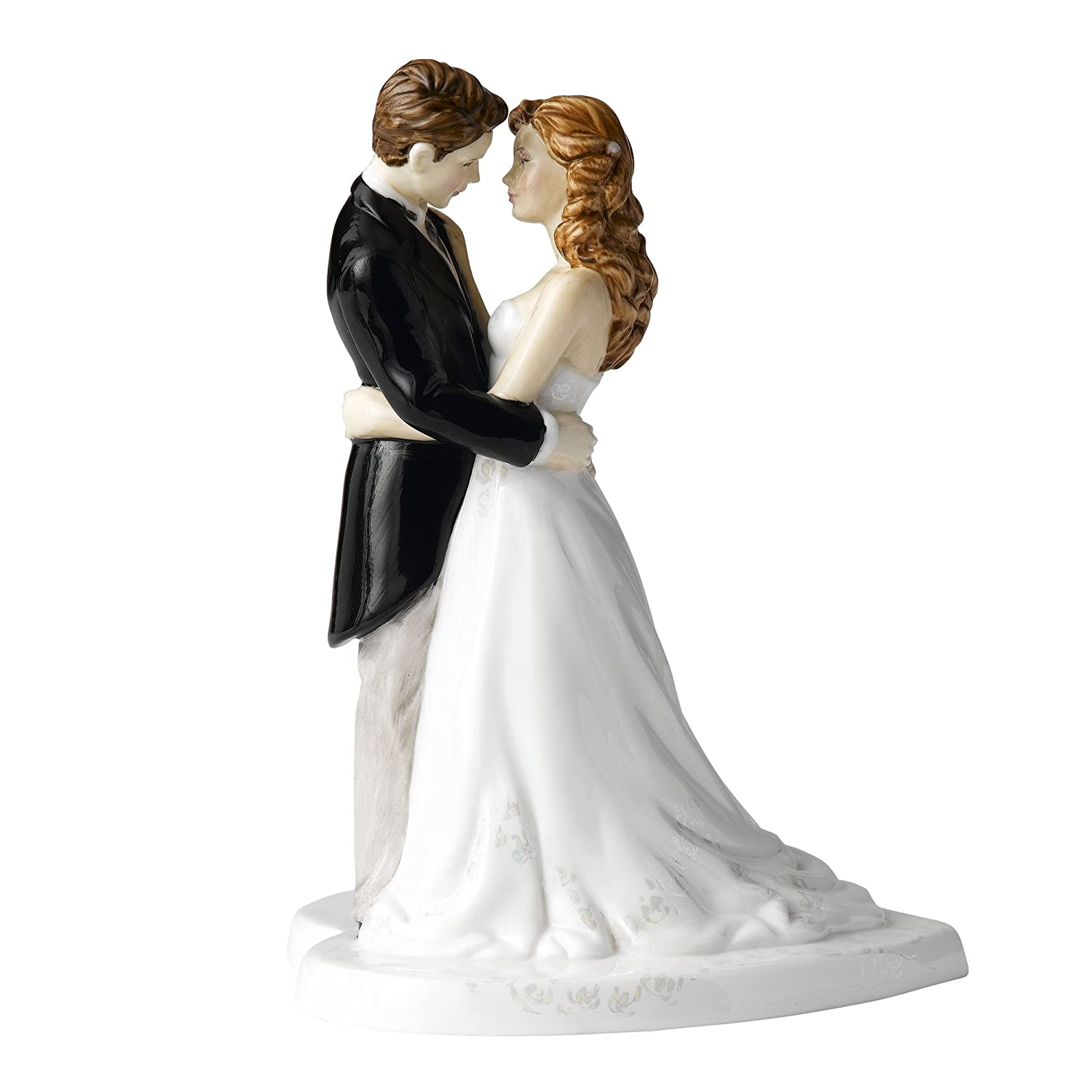 Amazon.com: Royal Doulton Our Wedding Day Cake Topper: Kitchen & Dining