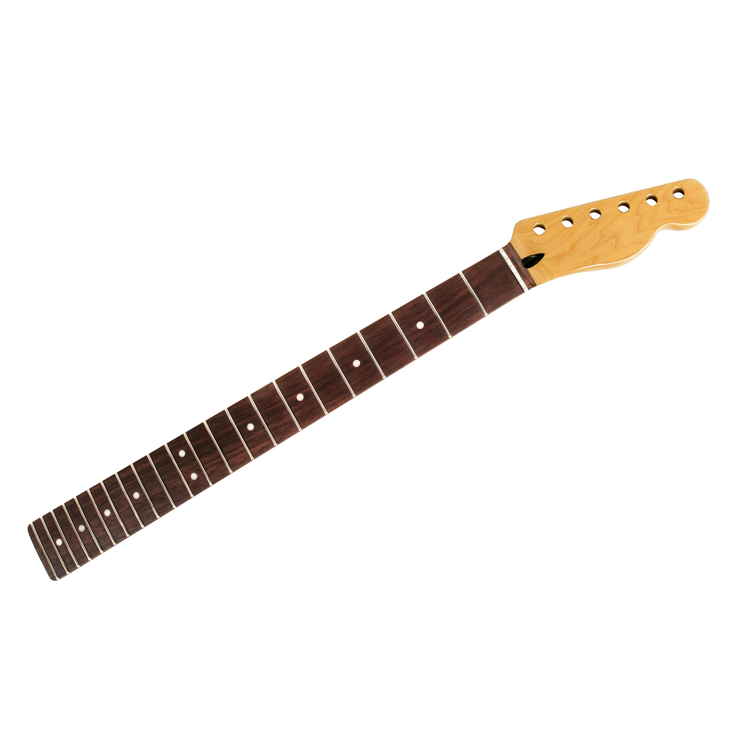 Mighty Mite Vintage Amber Neck for Tele, Rosewood Fingerboard