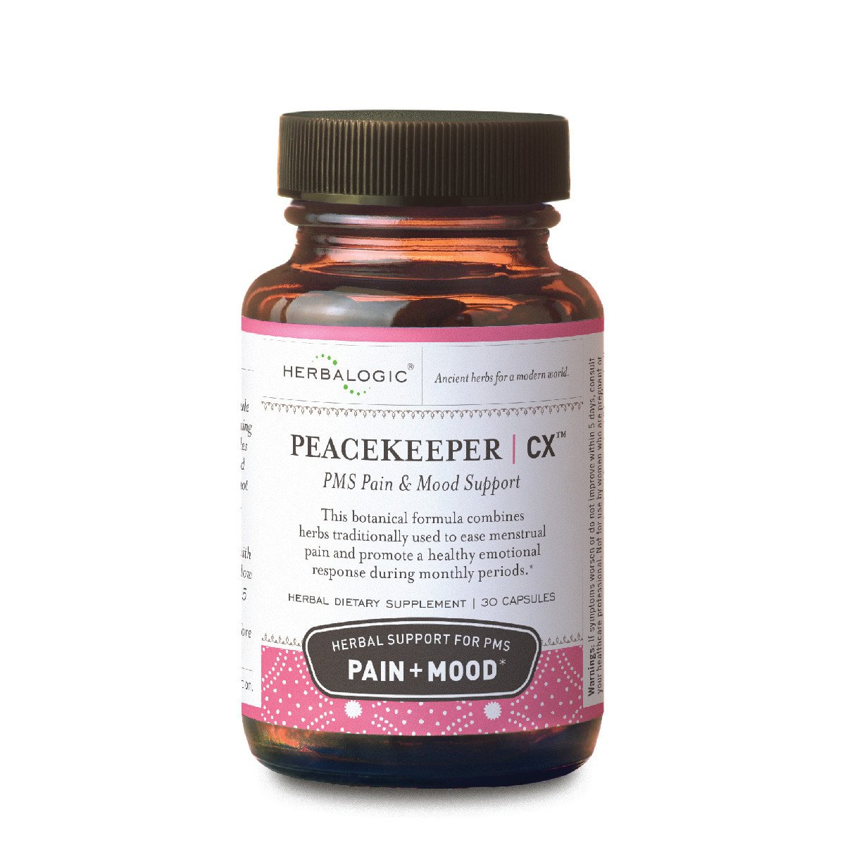 Peacekeeper CX PMS & PMDD Relief Capsules, 30 ct.