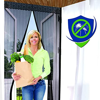 Reinforced Magnetic Screen Door Many Sizes And Colors To Fit Your
