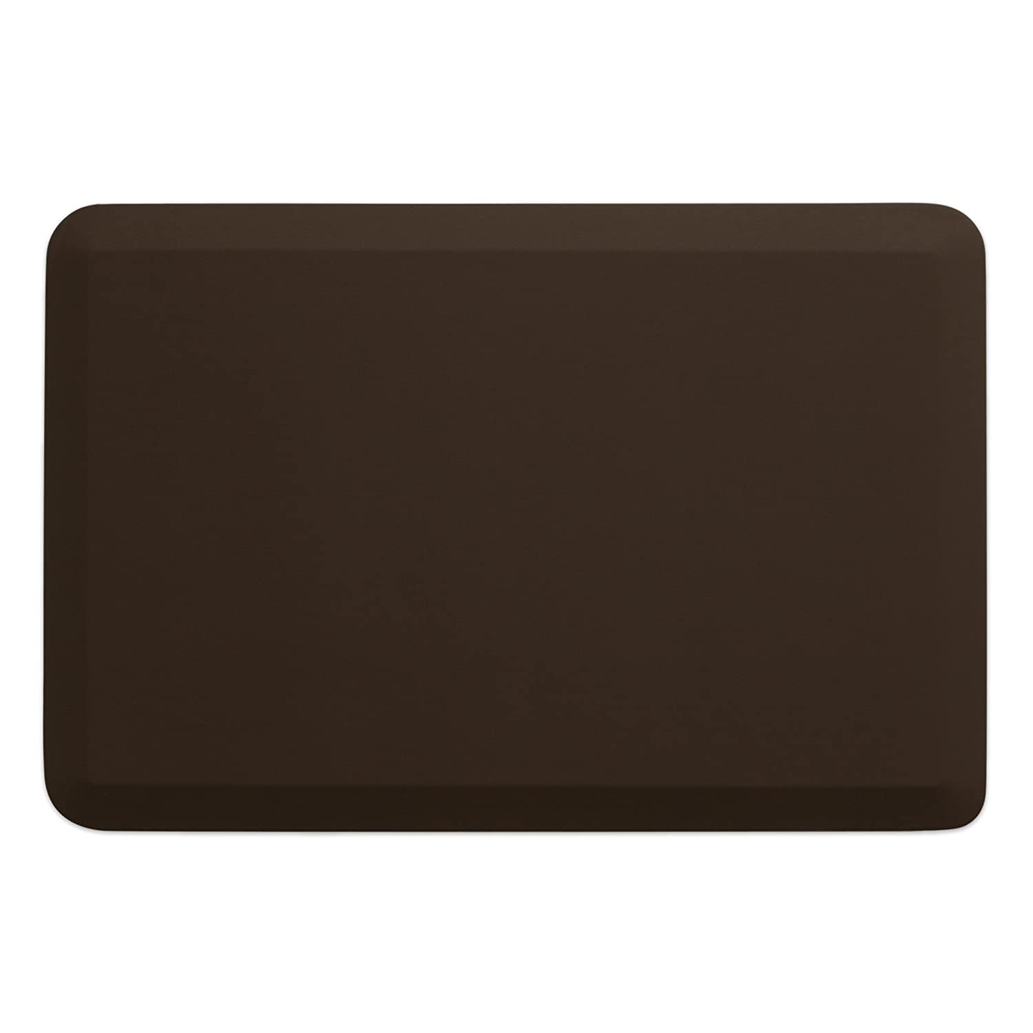 """New Life by GelPro Professional Grade Anti-Fatigue Kitchen & office Comfort Mat, 24x36, Earth ¾"""" Bio-Foam Mat with Non-Slip Bottom For Health & Wellness"""