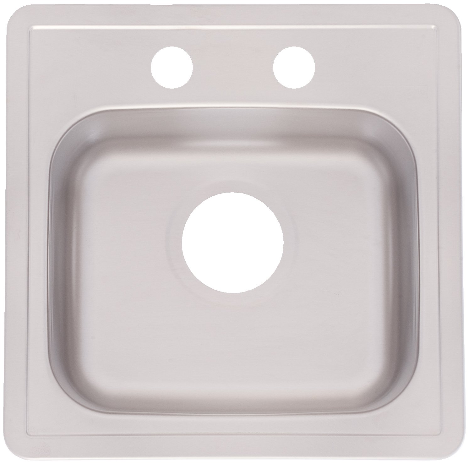 Kindred FBS602-35NB Single Bowl Stainless Steel 15x15in. Topmount Sink by KINDRED