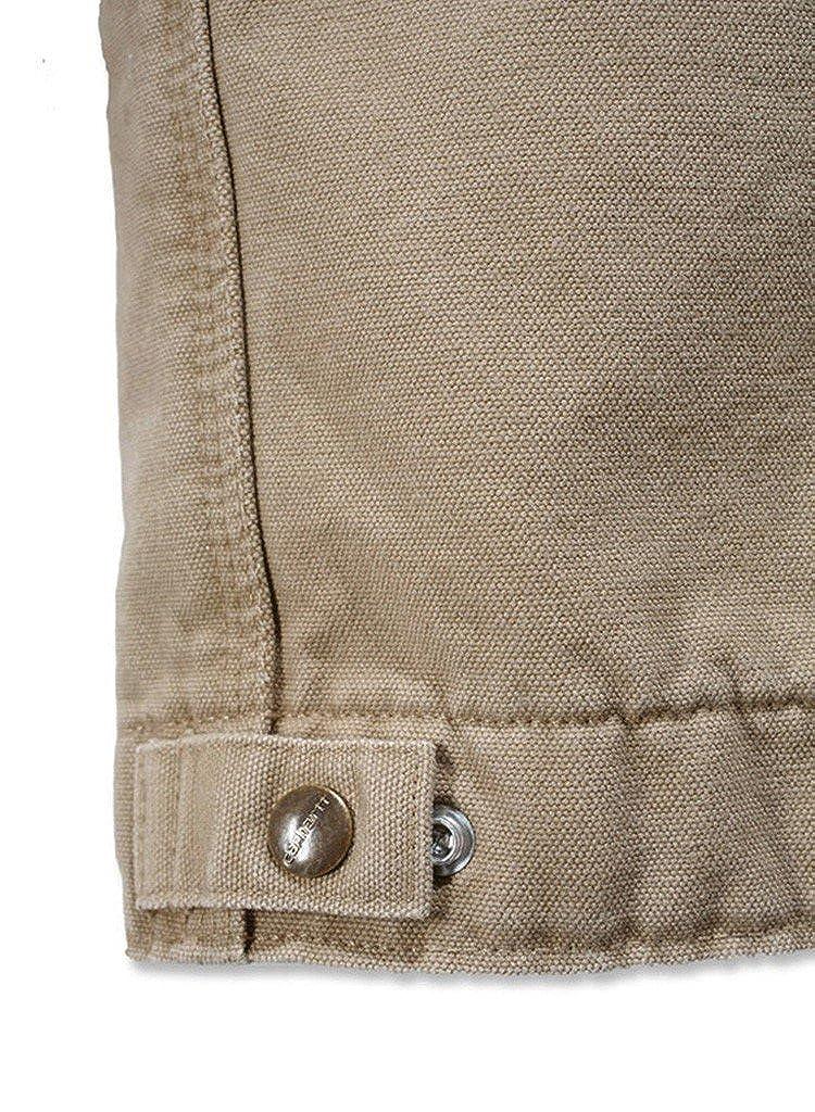 Carhartt arena Detroit chaqueta beige marrón claro XL: Amazon.es: Ropa y accesorios