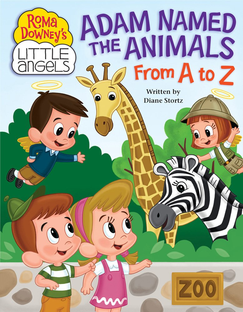 Download Adam Named the Animals from A to Z (Roma Downey's Little Angels) pdf