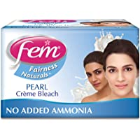 Fem Fairness Naturals Professional Pearl Creme Bleach, 314.4g