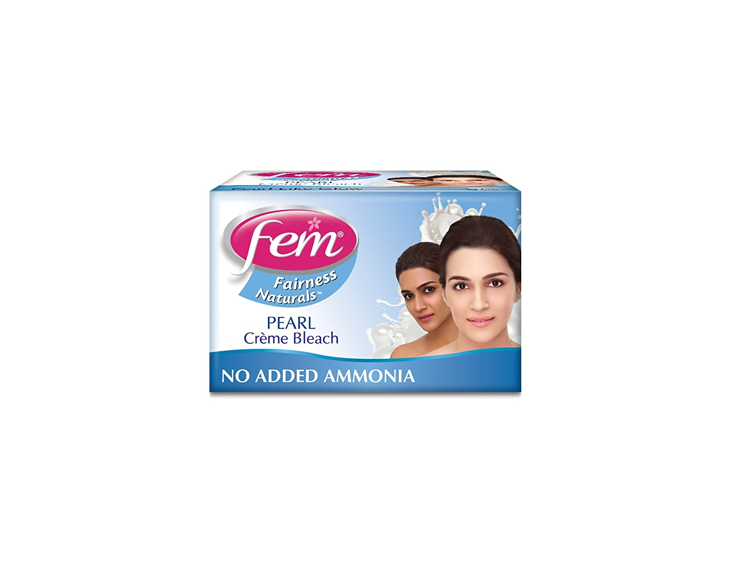 Fem Pearl Fairness Creme Bleach with Pearl & Milk 8g - India FM044008