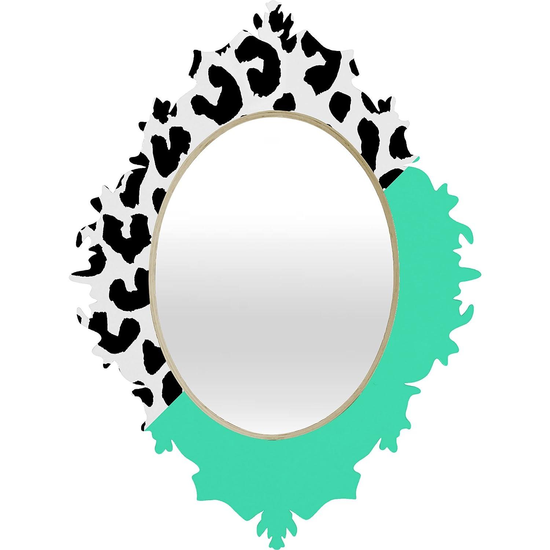 cd9cff96599 Deny designs rebecca allen leopard and mint baroque mirror home kitchen jpg  1500x1500 Leopard trim mirror