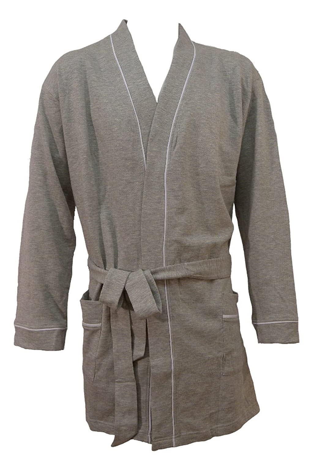 **Great Value** Adults Grey Marl Lounge Robe