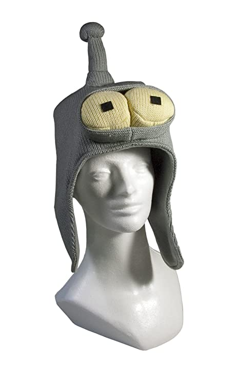 Amazon.com  Toynami Futurama Bender Knitted Hat  Toys   Games 560aad7f84f