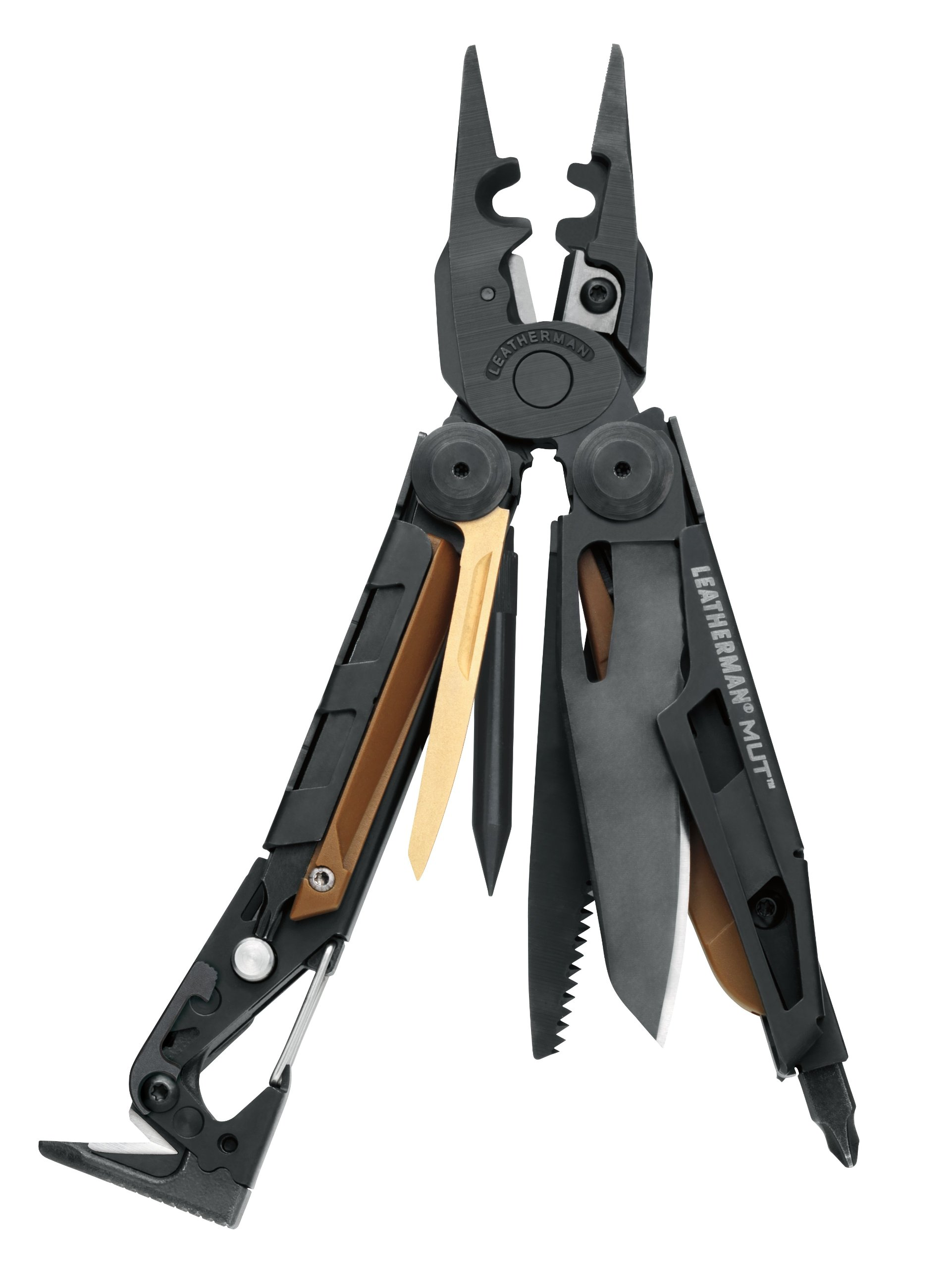 Leatherman - MUT EOD Multitool, Black with MOLLE Brown Sheath