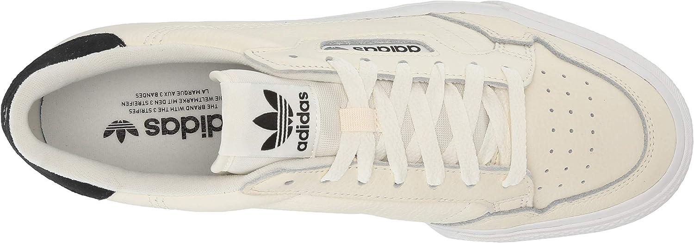 adidas Originals Continental Vulc, Basket Homme Blanc Cassé Blanc Cassé Noir