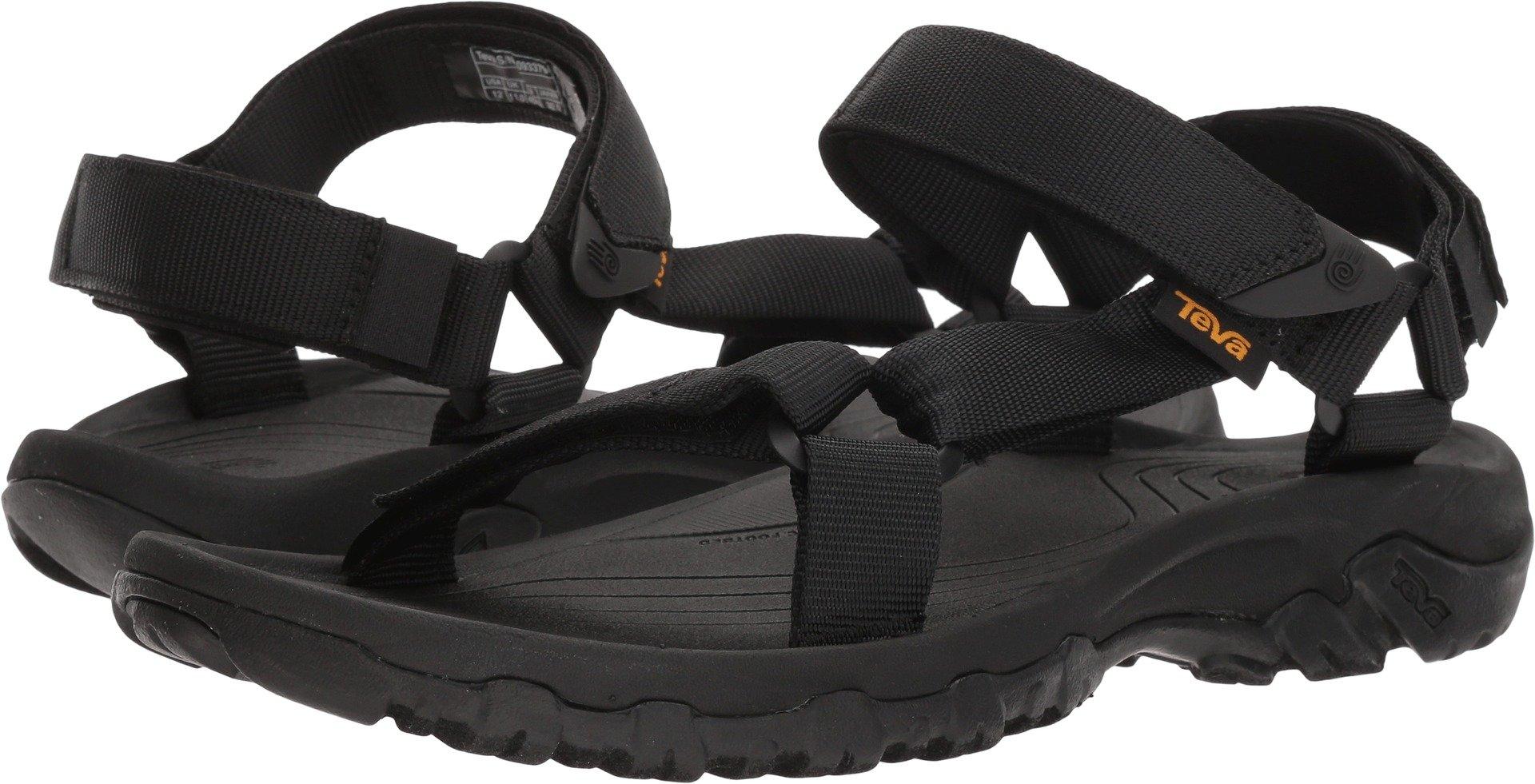 Teva Men's M Hurricane 4 Sport Sandal, Black, 13 M US