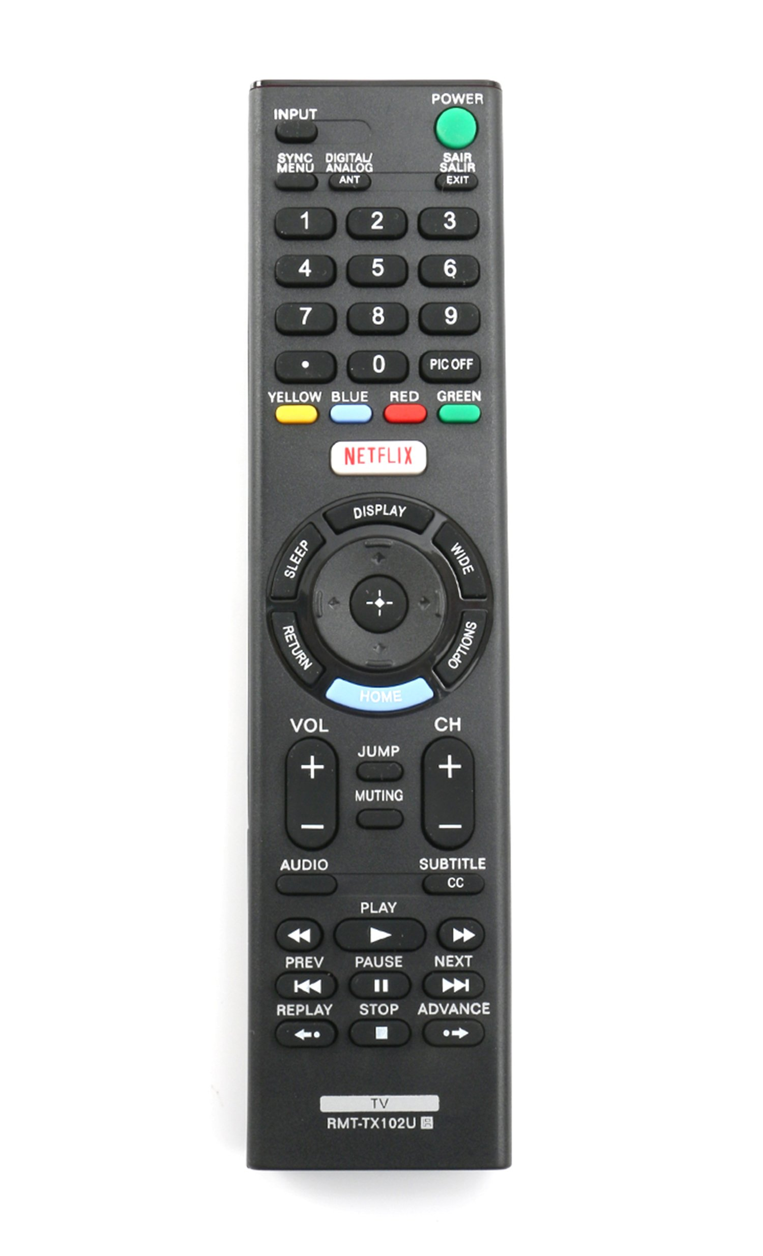 Control Remoto Rmt Tx102u Sony Tv Kdl 32r500c Kdl 40r510c...