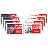 Warmee Body & Hand Warmers Heat Pouch (Pack Of 5 Regular + 6 Mini)