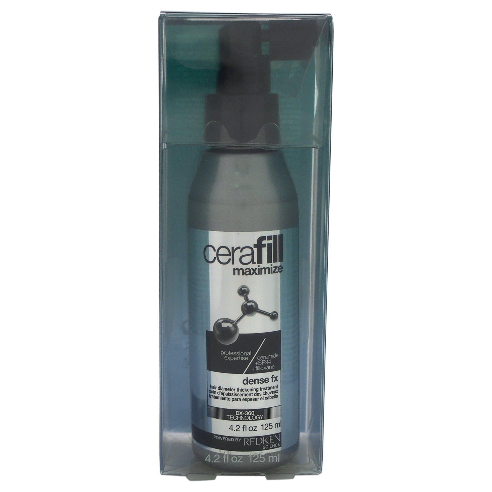Redken Cerafill Dense FX Hair Diameter Thickening Treatment for Unisex, 4.2 Ounce