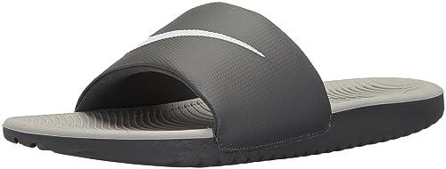 new arrival f153b b1960 Nike Kawa Slide, Zapatillas para Hombre, (Dark WhiteWolf Grey 001)