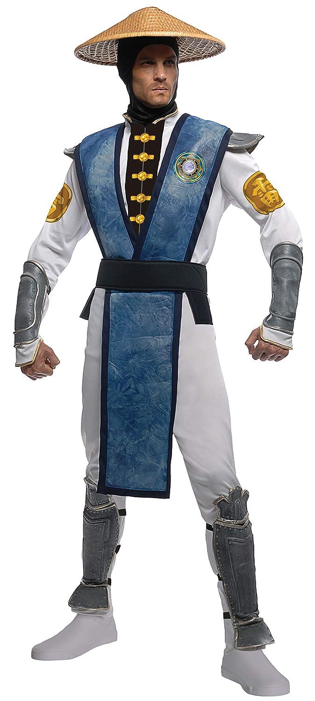 Mortal Kombat Raiden Kostüm für Erwachsene - Einheitsgröße