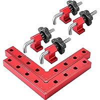 TTLIFE Haakse klem, Aluminium Vierkante Klem, 90 graden positioneren vierkanten houtbewerking gereedschappen voor…