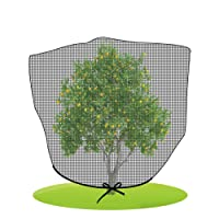 Agfabric Black Bird Netting Insect Barrier Garden Plant Cover, in-Shape Bag with...