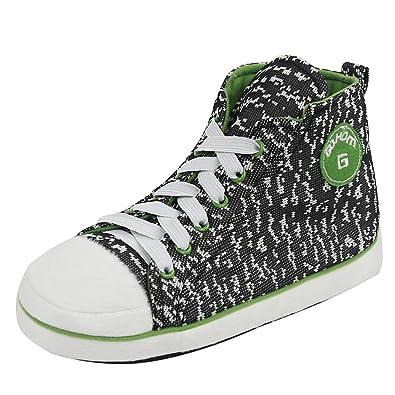 83470523c65 Gohom Slipper Boots for Men Warm Winter Indoor Sneakers Slipper Home Booties