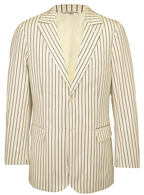 1920s Mens Suits Pinstripe Suit Jacket $182.85 AT vintagedancer.com
