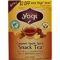 YOGI TEAS Caramel Apple Spice Slim Life Tea, 16 Tea Bags, 1.12 Ounce